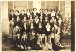 Sorority sisters (ZTA) at University of Texas, circa 1924