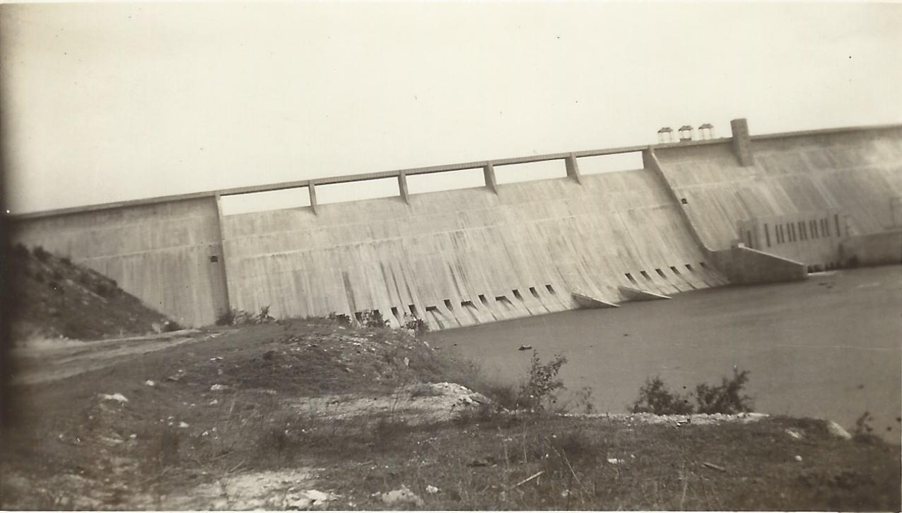 1943 Mansfield dam