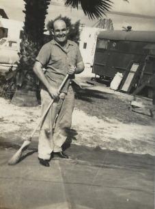1944 North beach trailer park yard work