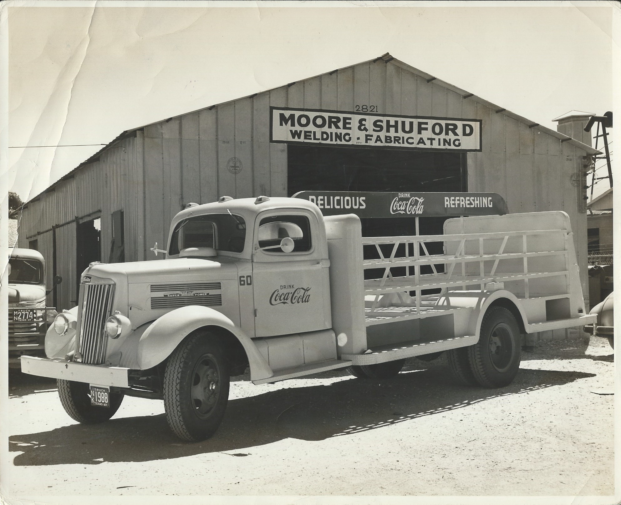 1947 Coca Cola truck made at Moore Shuford