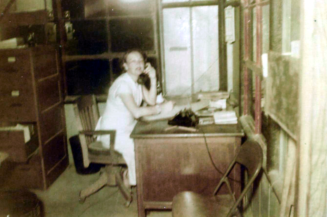 1950 Billie at Moore's Welding on agnes-fix